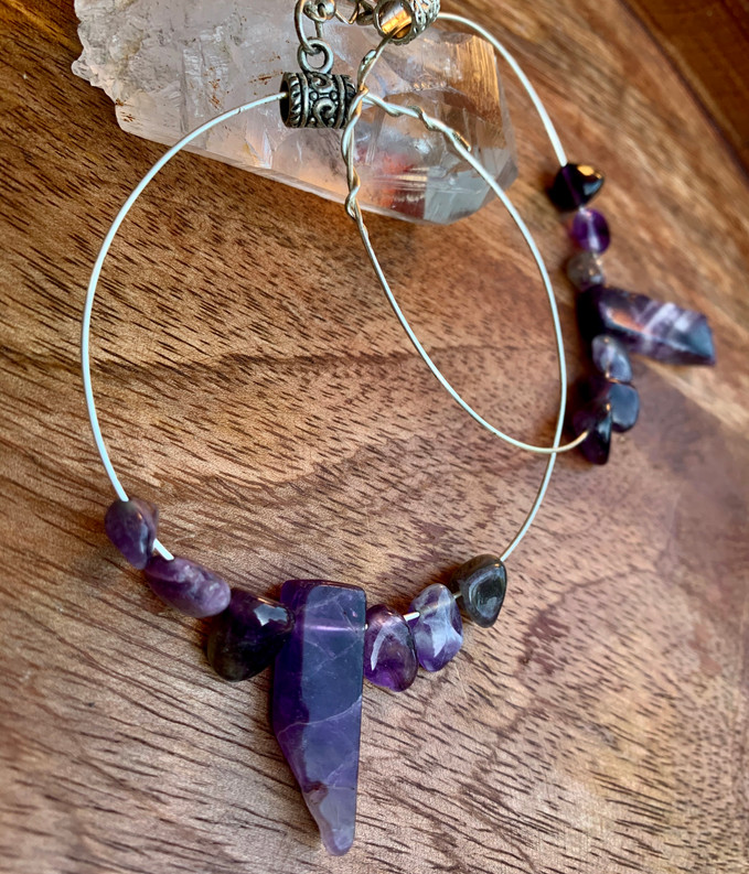 Giant Amethyst Protection Circles