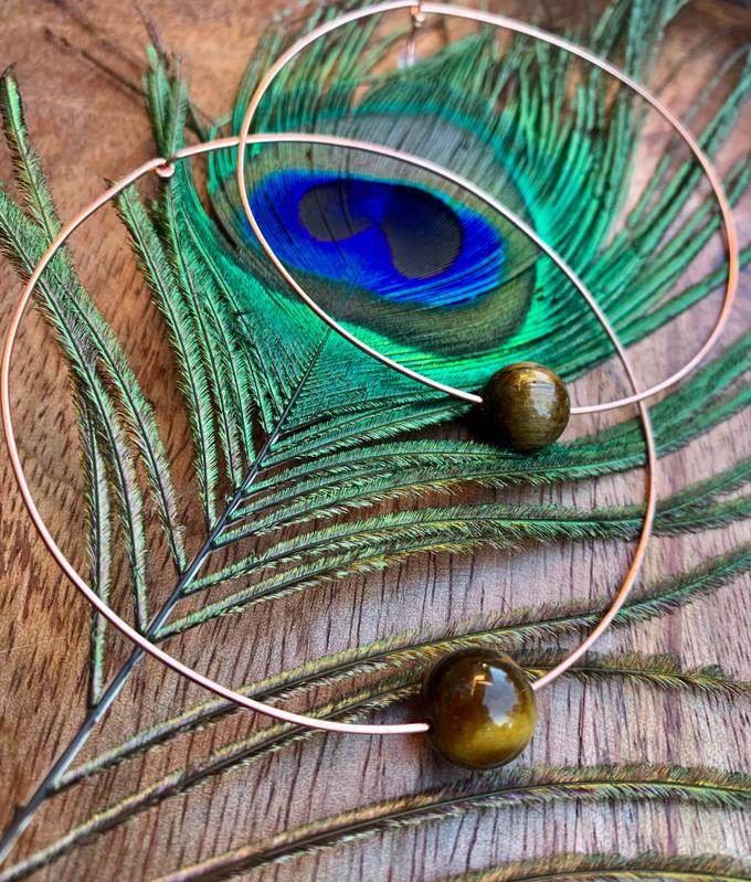Eye of The Tiger Ear Halos