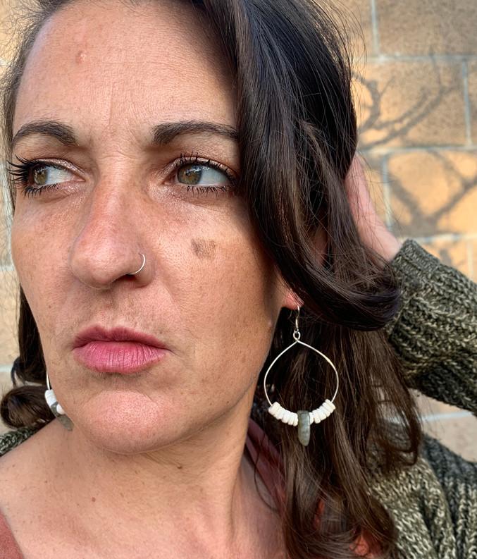West Coast Island Girl Earrings