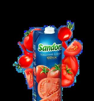 Томатний сік Sandora 0.95л