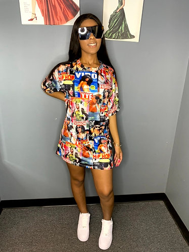 Picture Perfect T-Shirt Dress