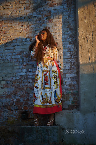 Nia Maxi Dress