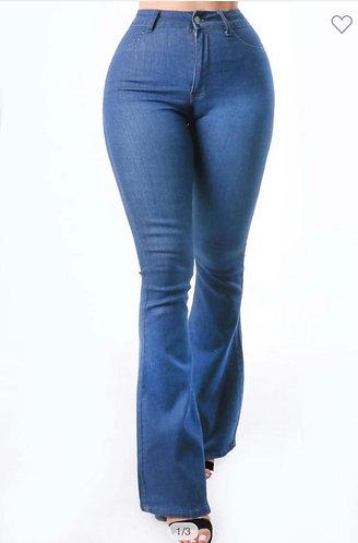 Plain Jane Bell Bottom Jeans