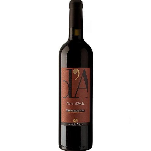 Antichi Vinai, Nero d'Avola Riserva Terre Siciliane 'd'A' IGT, 2013