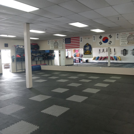 Our NEW Dojang is OPEN!!!!