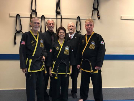 Please welcome our 2 NEWEST 3rd Degree Black Belts...