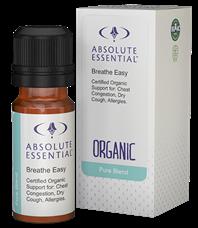 Breathe Easy (Organic) Essential Oil - 10ml