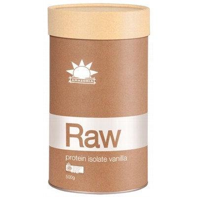 AMAZONIA RAW Organic Protein Isolate Vanilla 500g