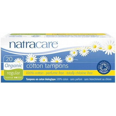 Natracare Organic Tampons - 20 pack