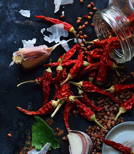 Spices for warm, antibacterial, antimicrobial actions