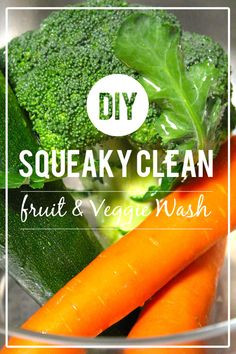 Clean produce wash