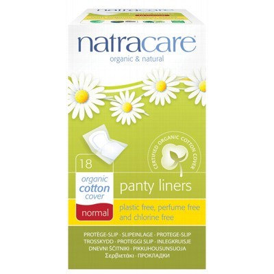 NATRACARE Panty Liners - 18 pack