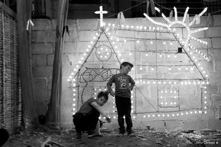 Niños jugando. Valencia