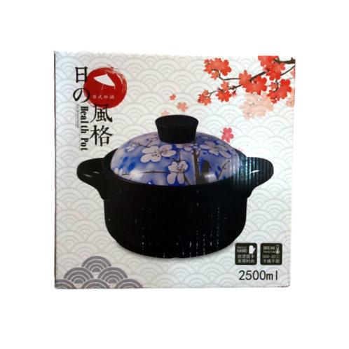 日式砂锅2500ml