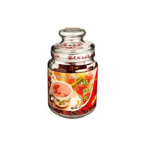 天湖山玫瑰花茶100g