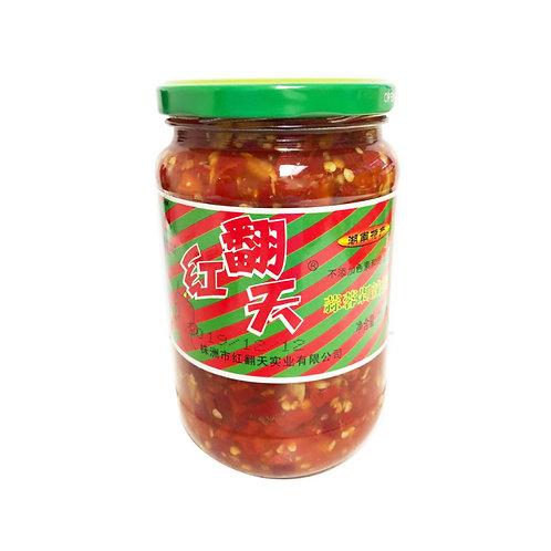 红翻天蒜蓉剁辣椒700G