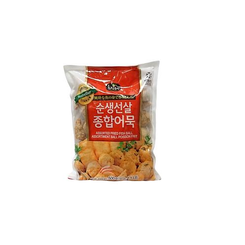 韩国什锦炸鱼丸500g