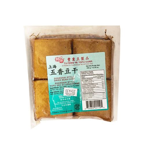 丰业上海五香豆干350g