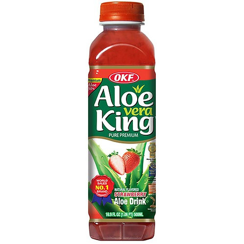"""OKF ""OKF Aloe Drink Strawberry""	500ml"