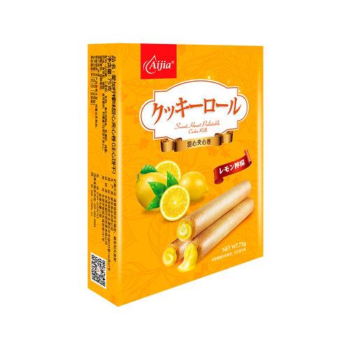 柠檬甜心爆爆卷75G