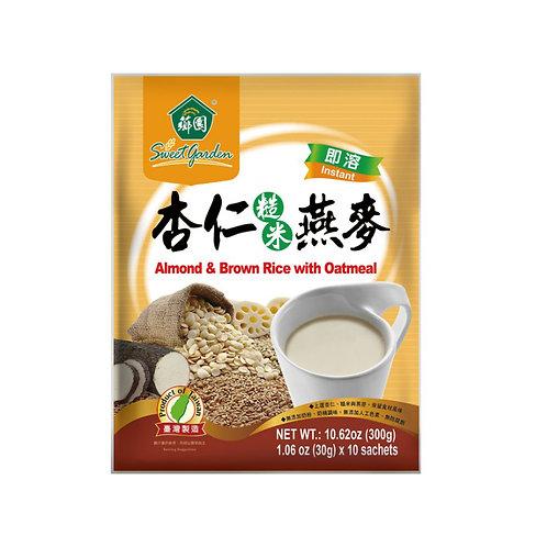 香园杏仁糙米燕麦300g