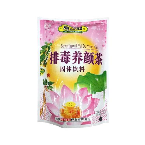 葛仙翁排毒养颜茶160g