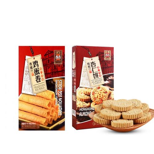 香香杏仁饼/鸡蛋卷380G