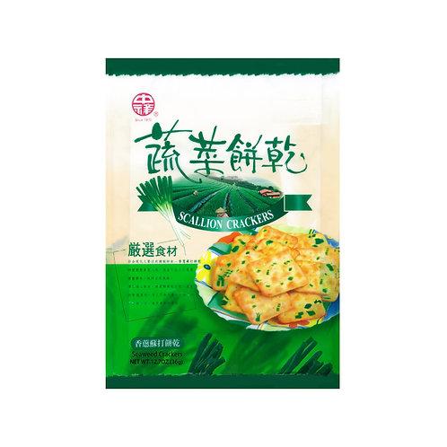 中祥蔬菜饼干360G