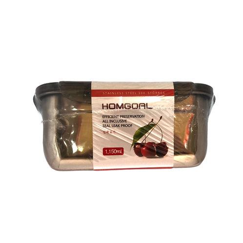 不锈钢保温饭盒(灰色)