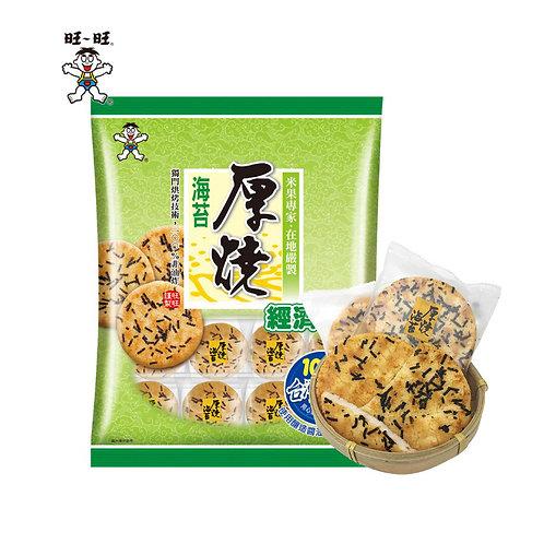 旺旺原烧海苔米果350G