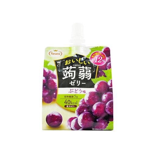 蒟蒻水葡萄味果冻条
