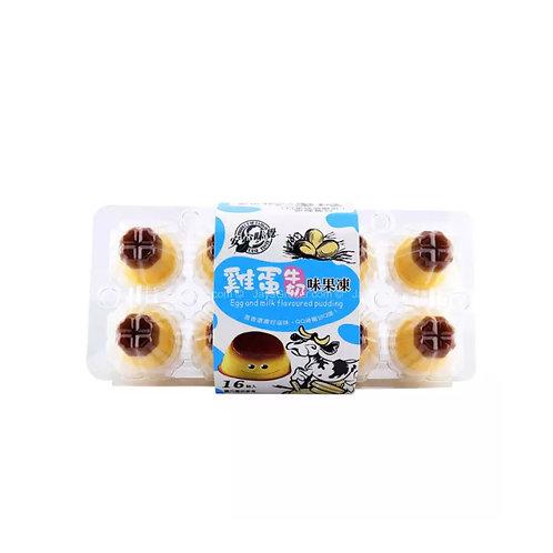 安心味觉鸡蛋牛奶味果冻255g