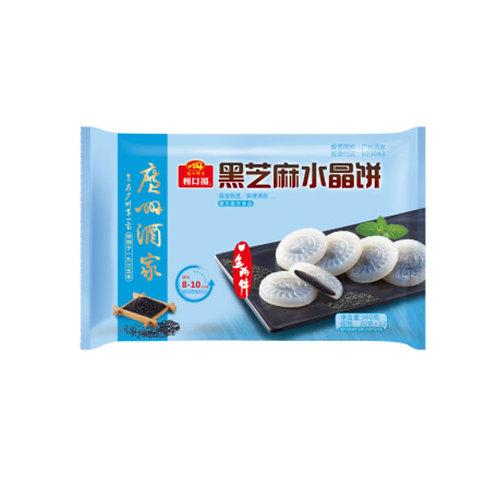 利口福黑芝麻水晶饼360g