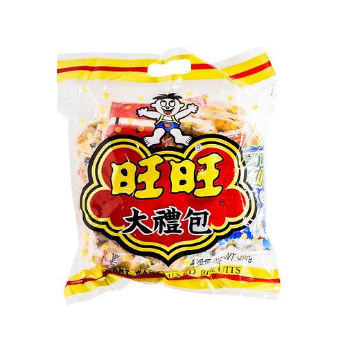旺旺饼干大礼包480G