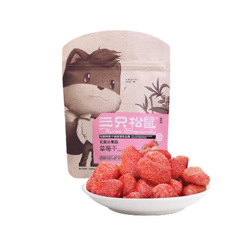三只松鼠草莓干106G