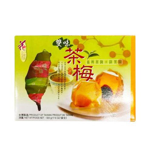 花恋语台湾雙味茶梅500G