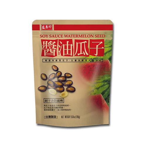 盛香珍酱油瓜子180G