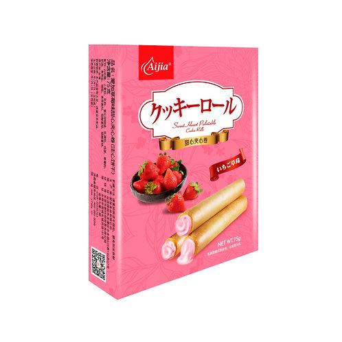 草莓甜心爆爆卷75G