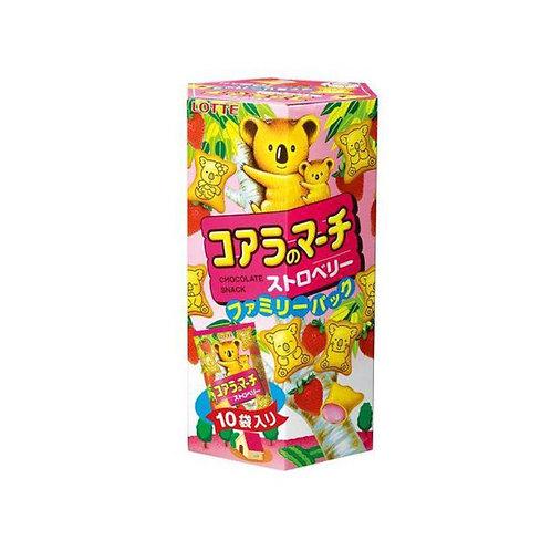 小熊饼干草莓口味195G