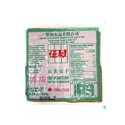 恒利五香豆干250g