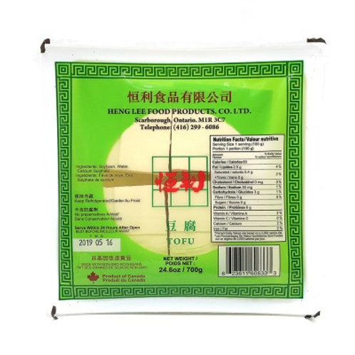 恒利豆腐700g