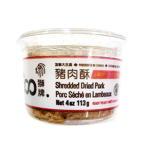 狮牌猪肉酥113G