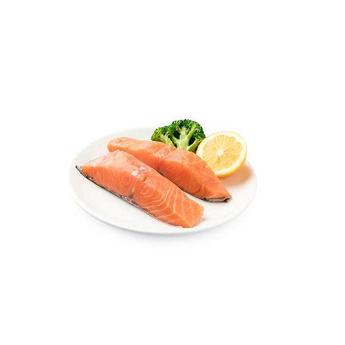 新鲜三文鱼扒
