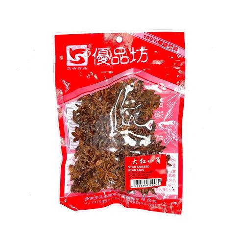 亚杰食品大红八角110G