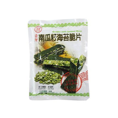 南瓜籽海苔脆片40G