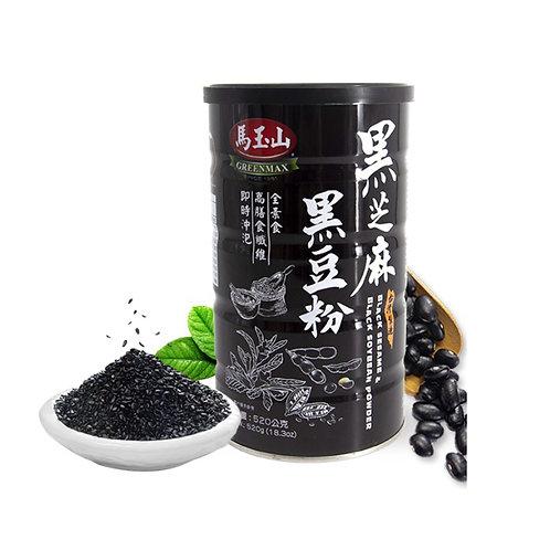 马玉山黑芝麻黑豆粉520g