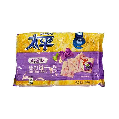 太平紫薯味梳打饼干400G