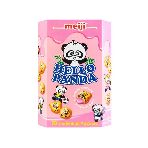 美极熊猫饼干草莓味258G