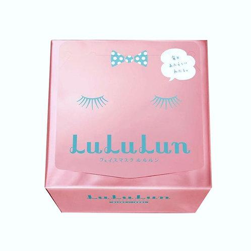 LULULUN粉色保湿补水面膜36片