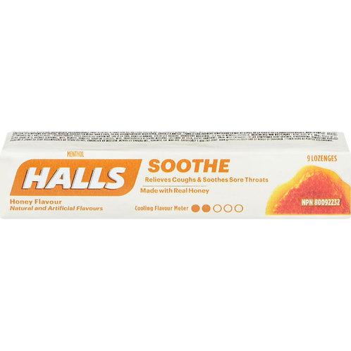 HALLS Honey 9 ea